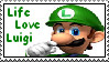 Luigi stamp by KisaShika