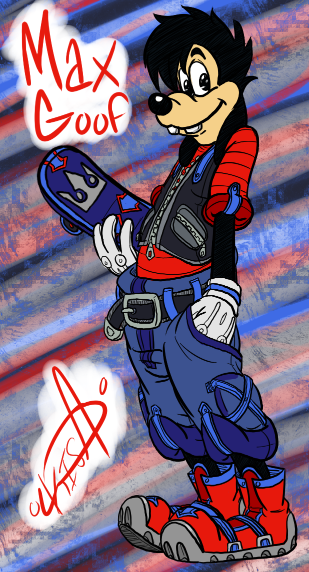 KH: Max Goof by KisaShika on DeviantArt