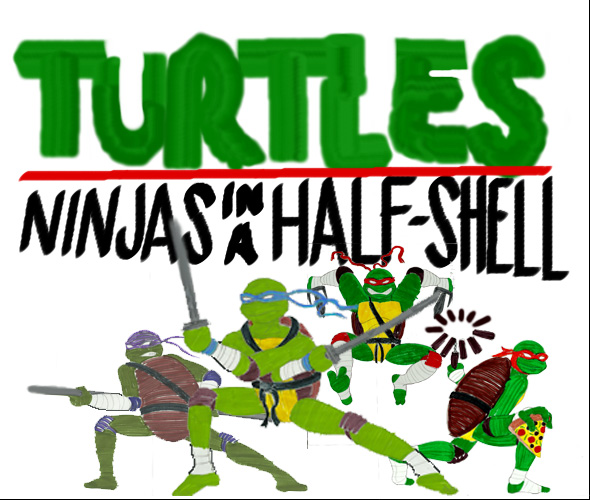 Ninjas in a Half-Shell by Shellquake