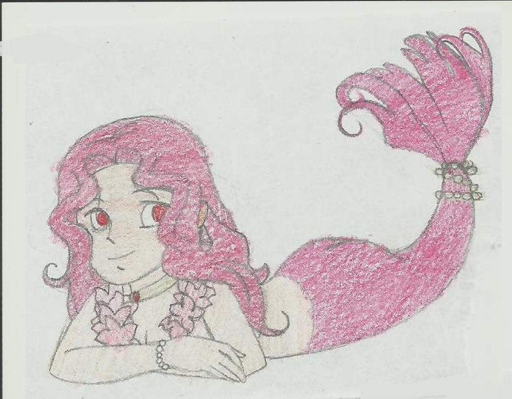 Ruby Red the Mermaid by Shellquake