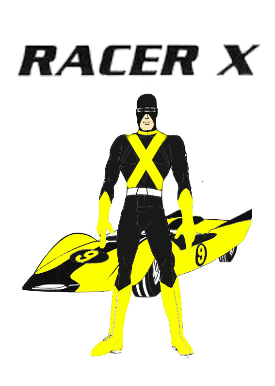 Racer X (Mask Racer) by Shellquake