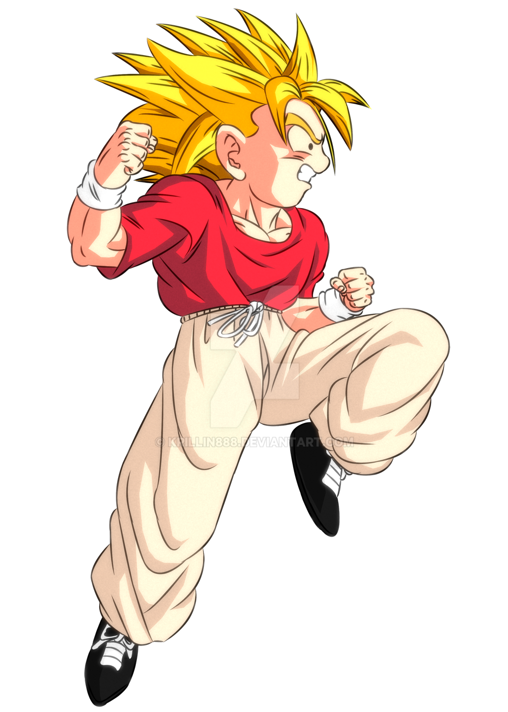 Super Saiyan Krillin by Krillin888 on DeviantArt