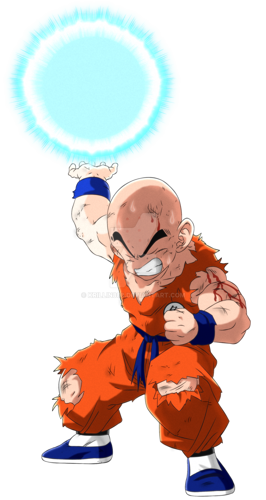 Krillin Dragonball Z Vegeta Sagav1 By Krillin888 On