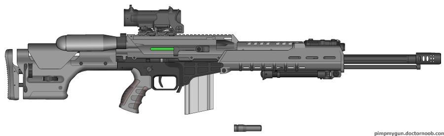 Railgun concept 1 - Original future rifle by sucker1999 on ...