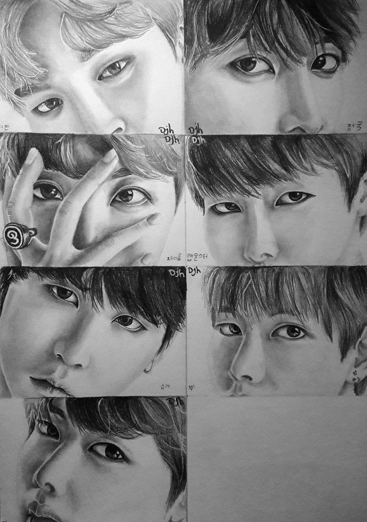 BTS - eyes by forevercoolie