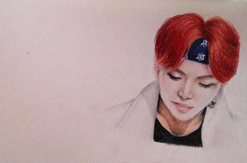 BTS - Kim Taehyung quick drawing by forevercoolie on DeviantArt