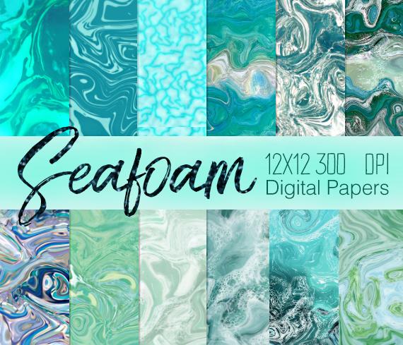 Sea foam Marble Photoshop patterns by imakestock on DeviantArt