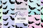 Halloween Glitter Pastel Patterns