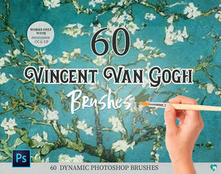 Vincent Van Gogh Photoshop brushes by imakestock