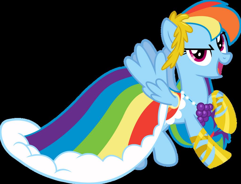 At The Gala: Rainbow Dash
