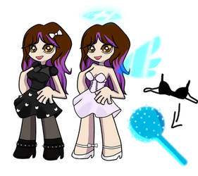 myself in panty and stocking style