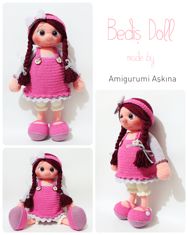 Amigurumi Doll by amigurumiaskina on DeviantArt
