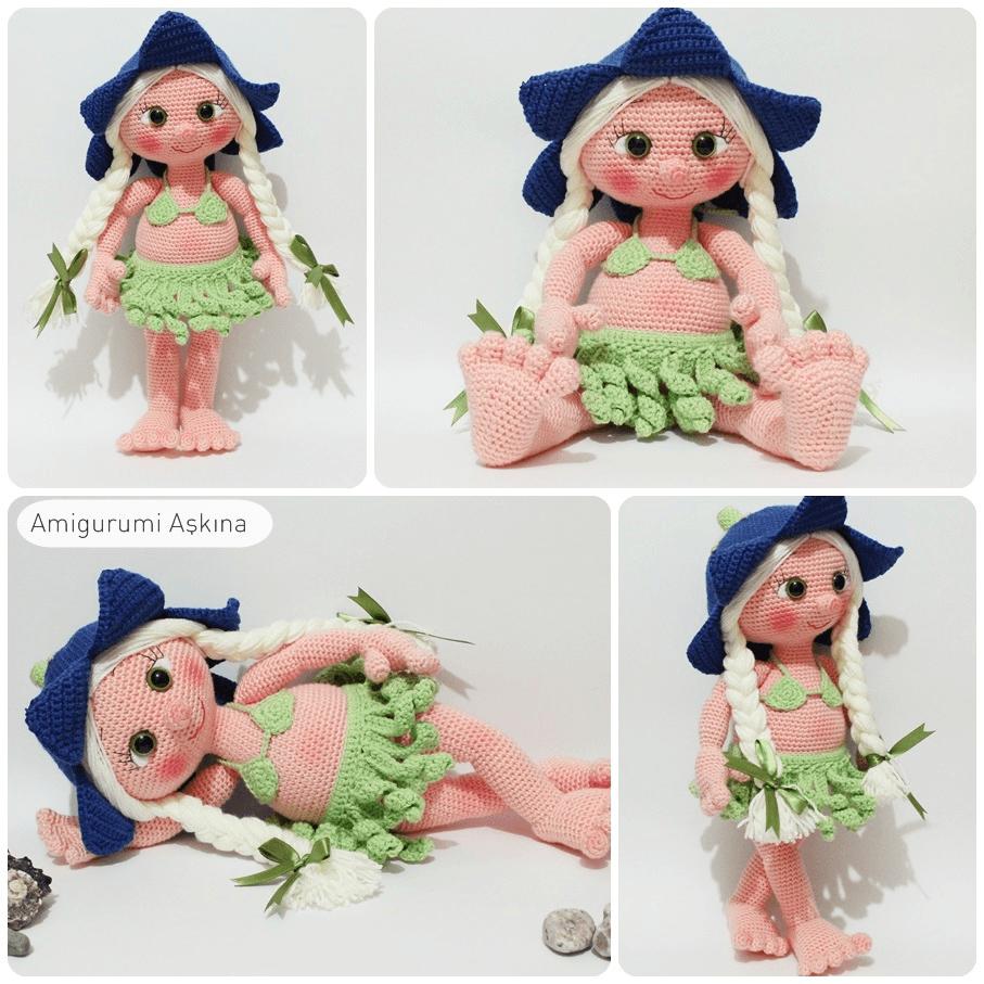Amigurumi Hawai Doll : Amigurumi lana doll by amigurumiaskina on deviantart