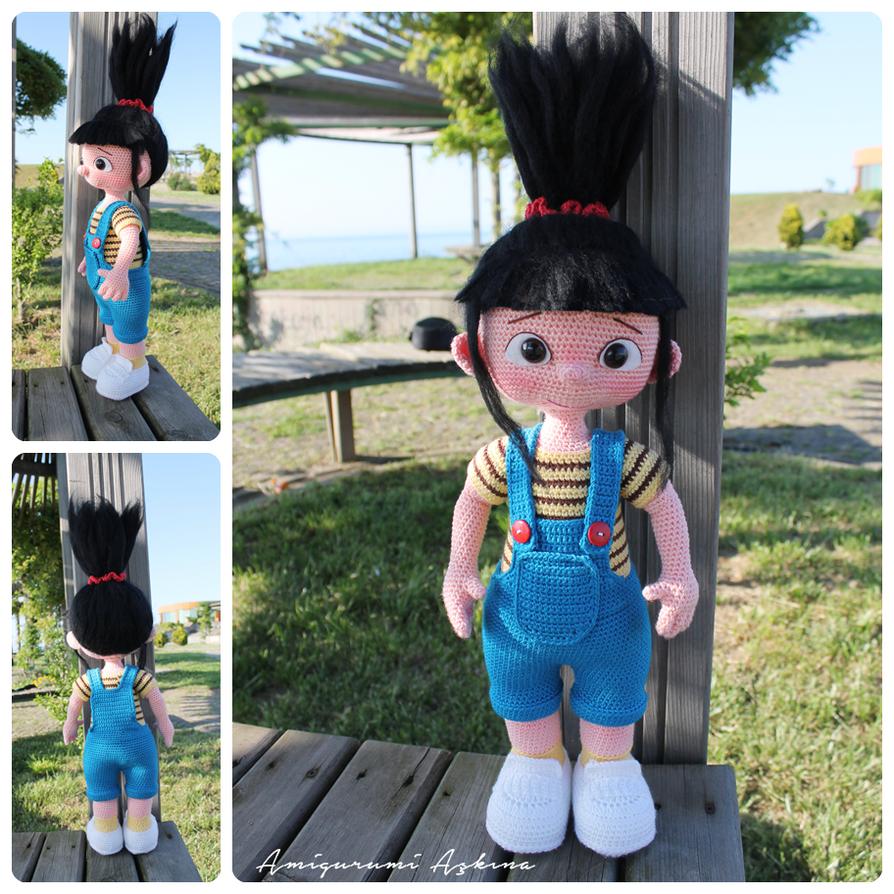 Amigurumi Askina Doll Pattern : Amigurumi-agnes by amigurumiaskina on DeviantArt