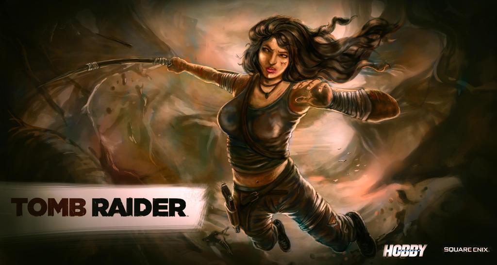 tomb raider reborn by earthwormnistic
