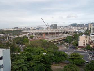 Maracana Stadium by bluessaurus
