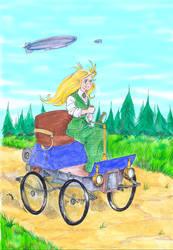 Girl Genius 3rd sketch - Color