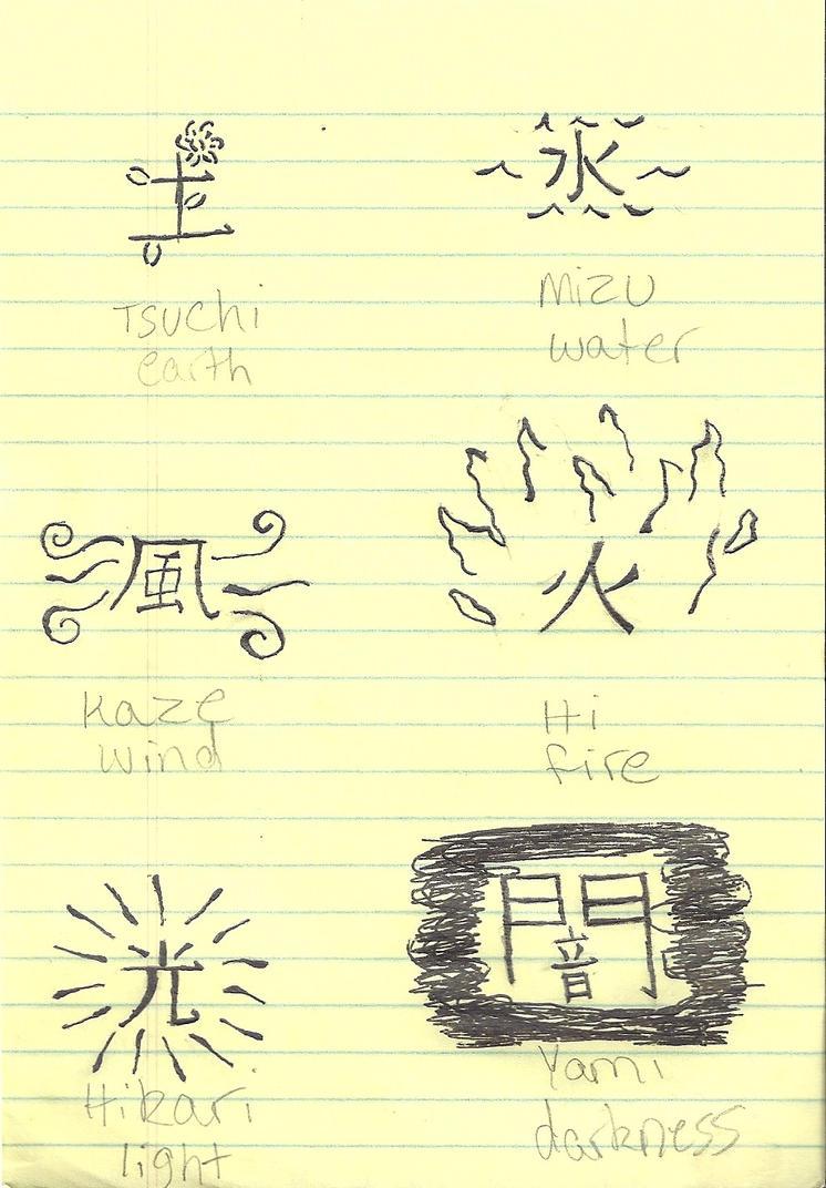 Japanese Element Tattoos by dogatemymanuscript ...