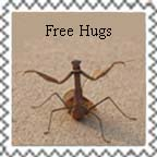 Free Hugs Stamp by dogatemymanuscript
