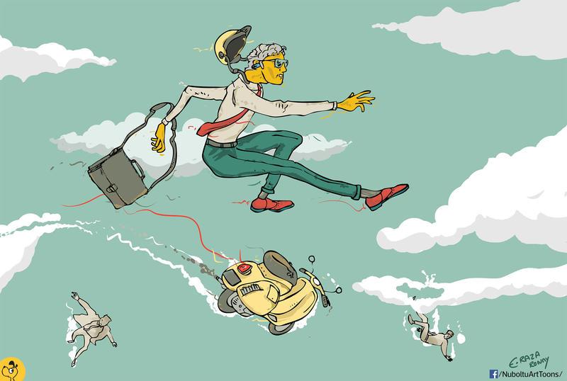 Entrepreneur leap by nutboltu