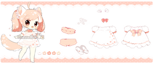 Adopts: Sakura Blossom Floral Puppy* (CLOSED)