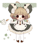 [closed]Minty Mouse Garden Children*