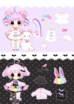 [AUCTION*]Puffimi pastel - closed