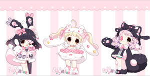 ( AUCTION ) PomTail and Plushkins CLOSED