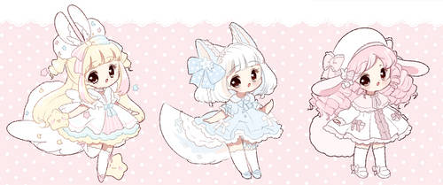 [ Cuties* ] Offer to Adopt [ OPEN ] by Hinausa