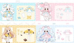 [ AUCTION ] CYOP cuties [ CLOSED ]