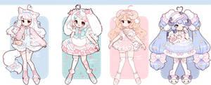 [ Flatrate discount] Cute Pastel [ CLOSED ]