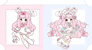 [ Auction ] Bunny Sister [ CLOSED ]