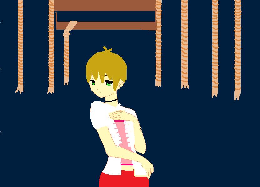 Hisoka as Miku part two by Yumi123