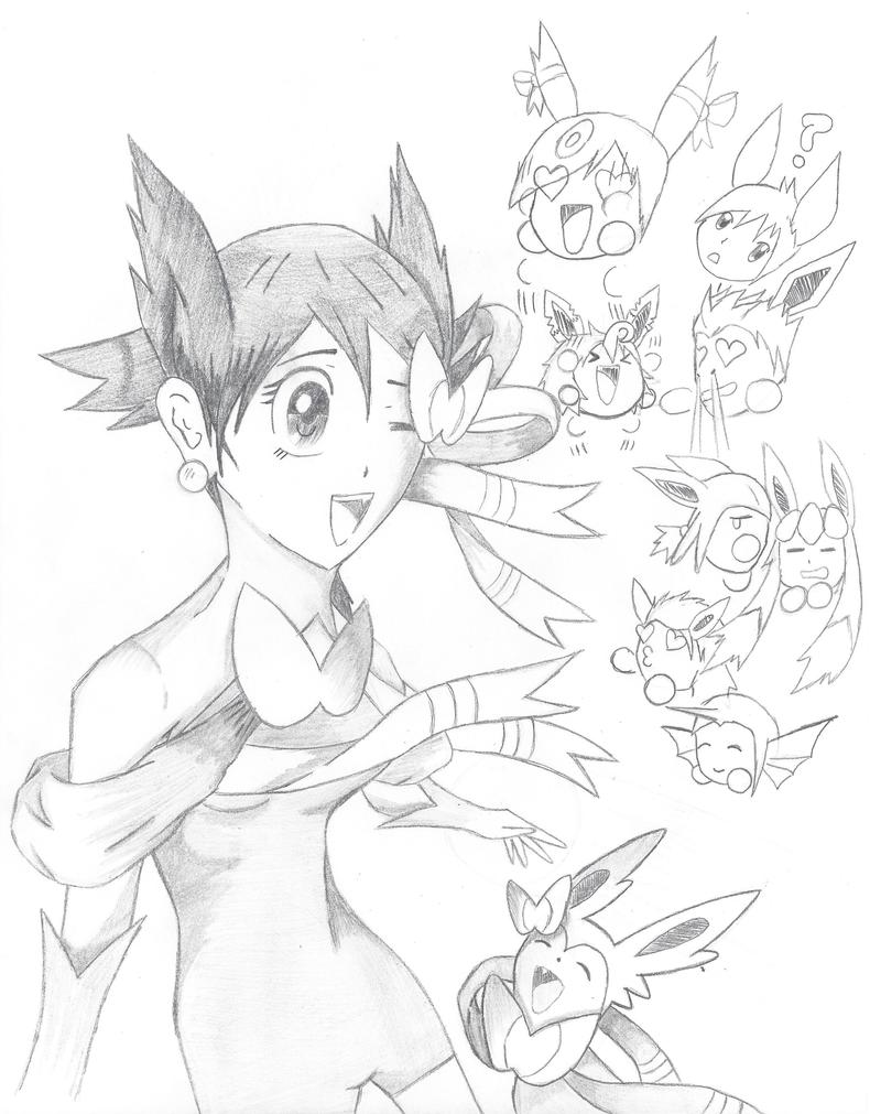 Sylveon and the evolution pokemon. Human . pokemon by ...