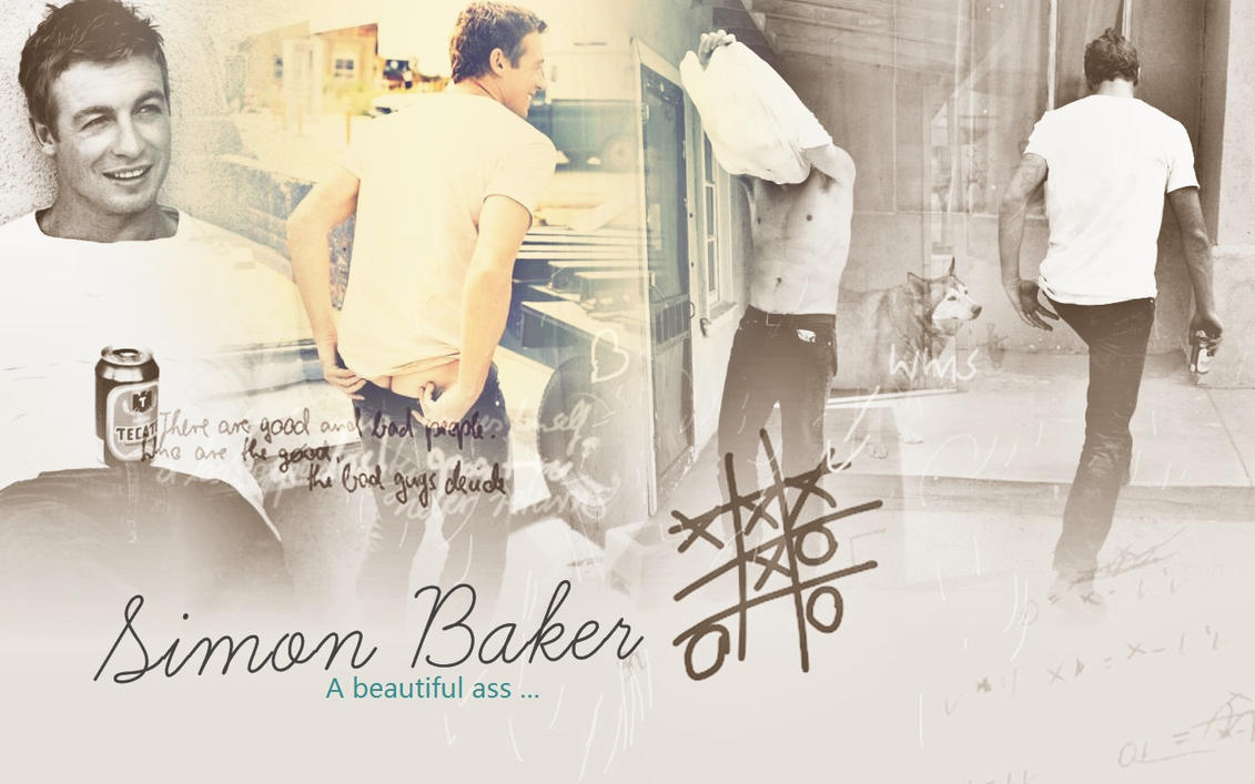 Simon Baker Scar Simon baker the mentalist by