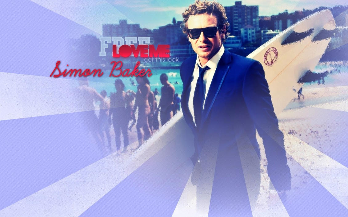 Simon Baker Scar Simon baker is jane by anthony258