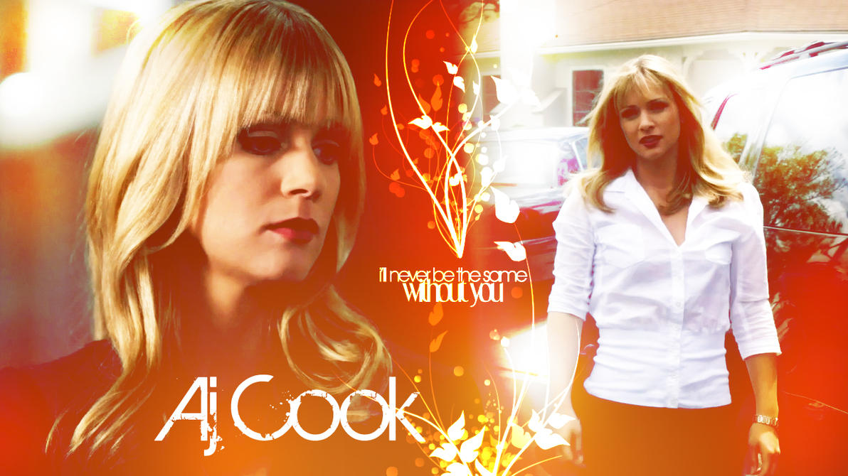 AJ COOK Wall by Anthony258