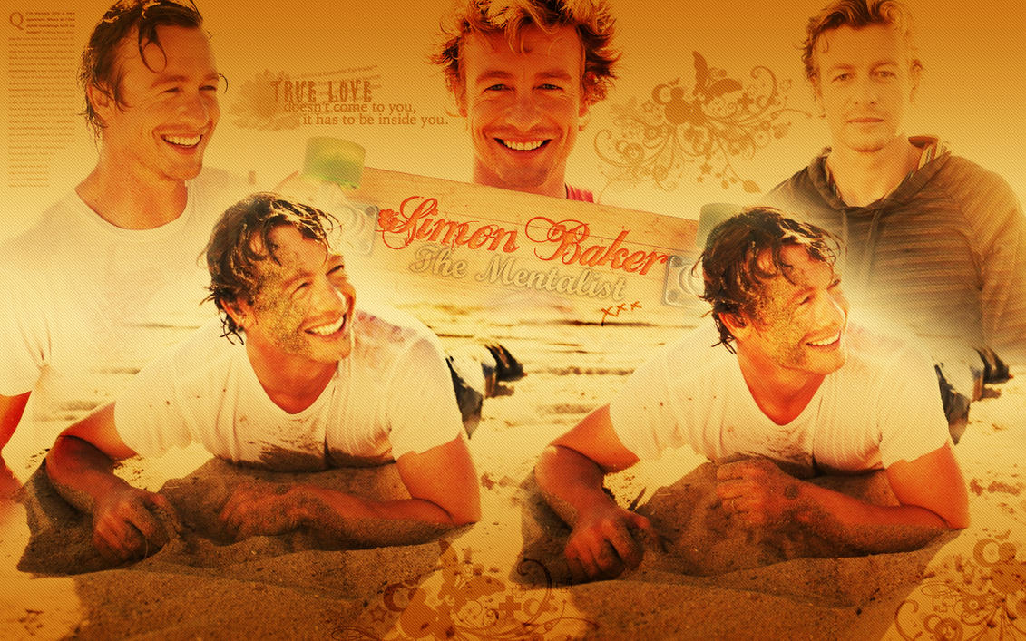 Simon Baker Scar Simon baker actor by anthony258