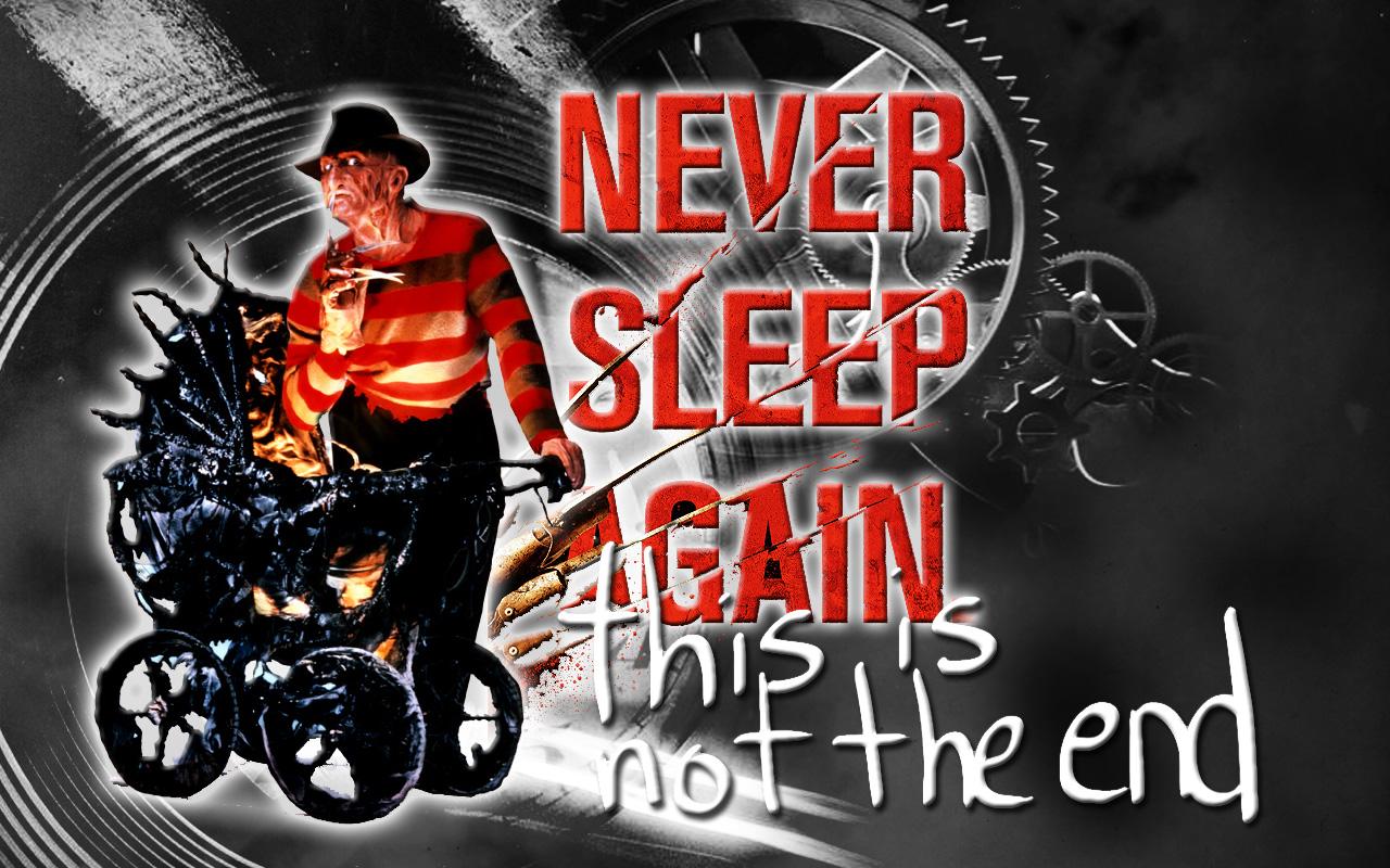 Freddy Krueger NEVER SLEEP By Anthony258