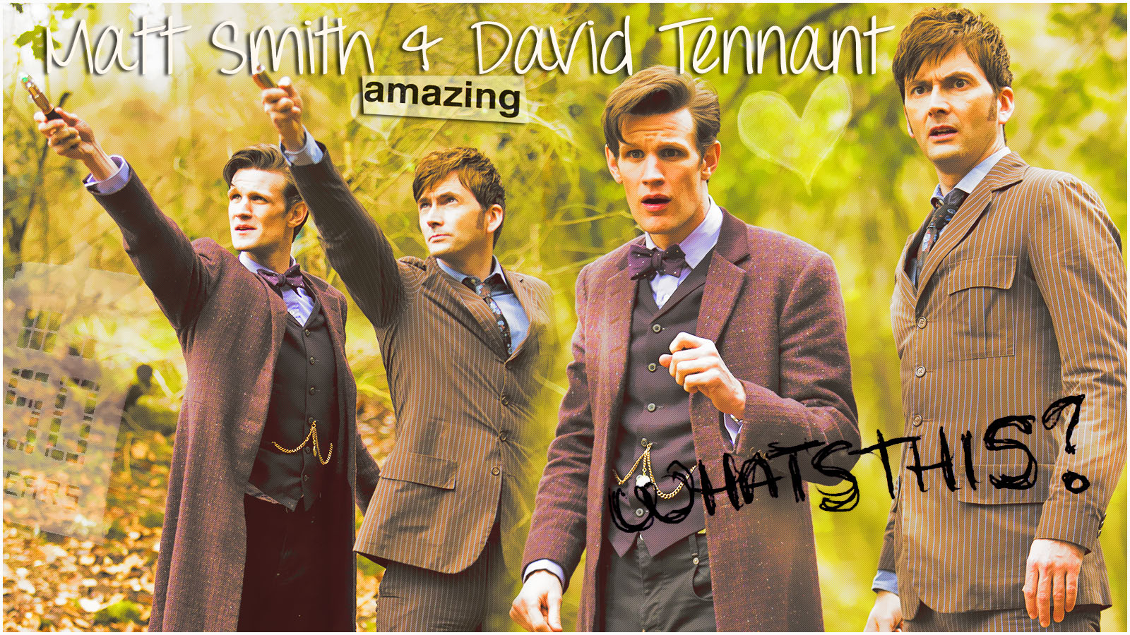 Doctor Who Matt Smith And David Tennant By Anthony258 On Deviantart
