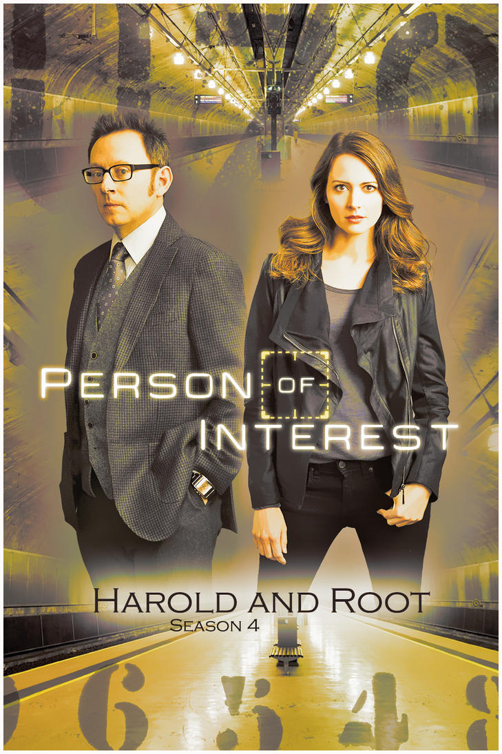 Harold Finch and Root by Anthony258