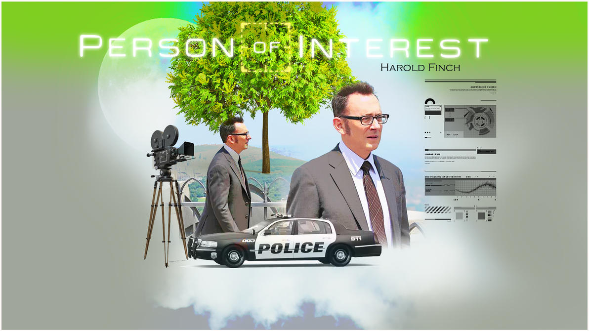 HAROLD FINCH PERSON OF INTEREST by Anthony258