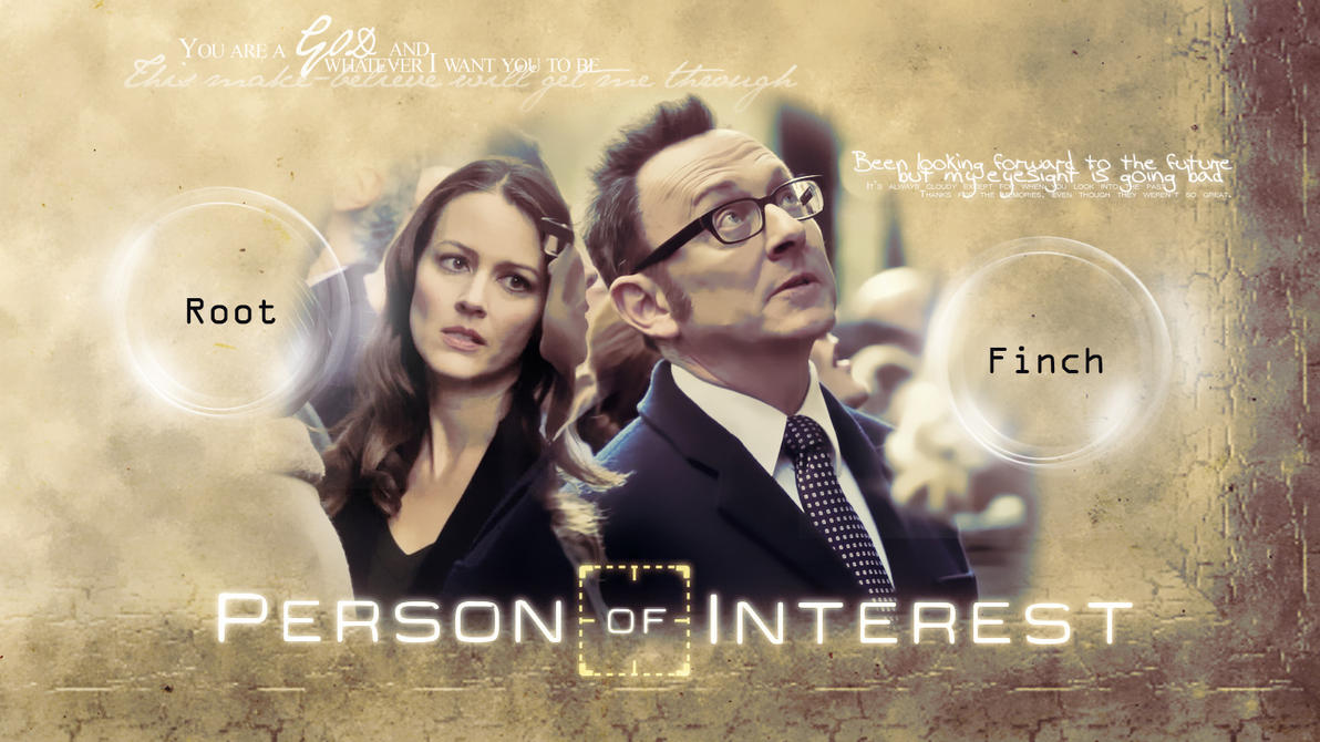 Person Of Interest Groves and Finch by Anthony258