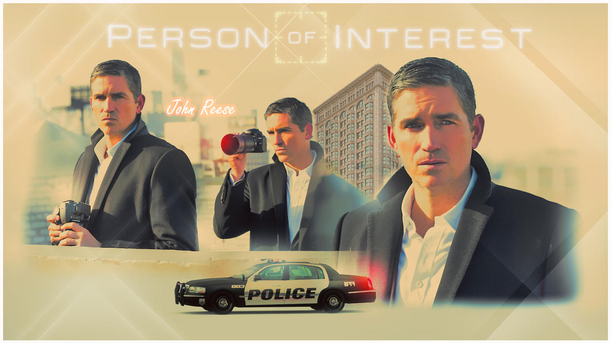 John Reese from PERSON OF INTEREST by Anthony258