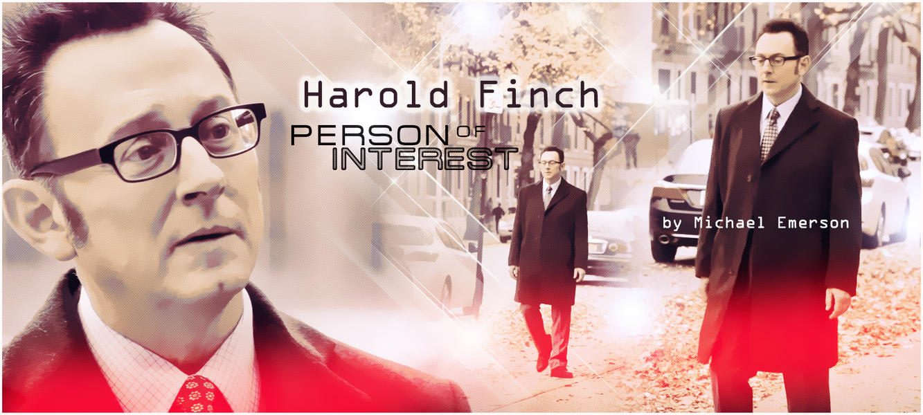 Harold Finch by Anthony258