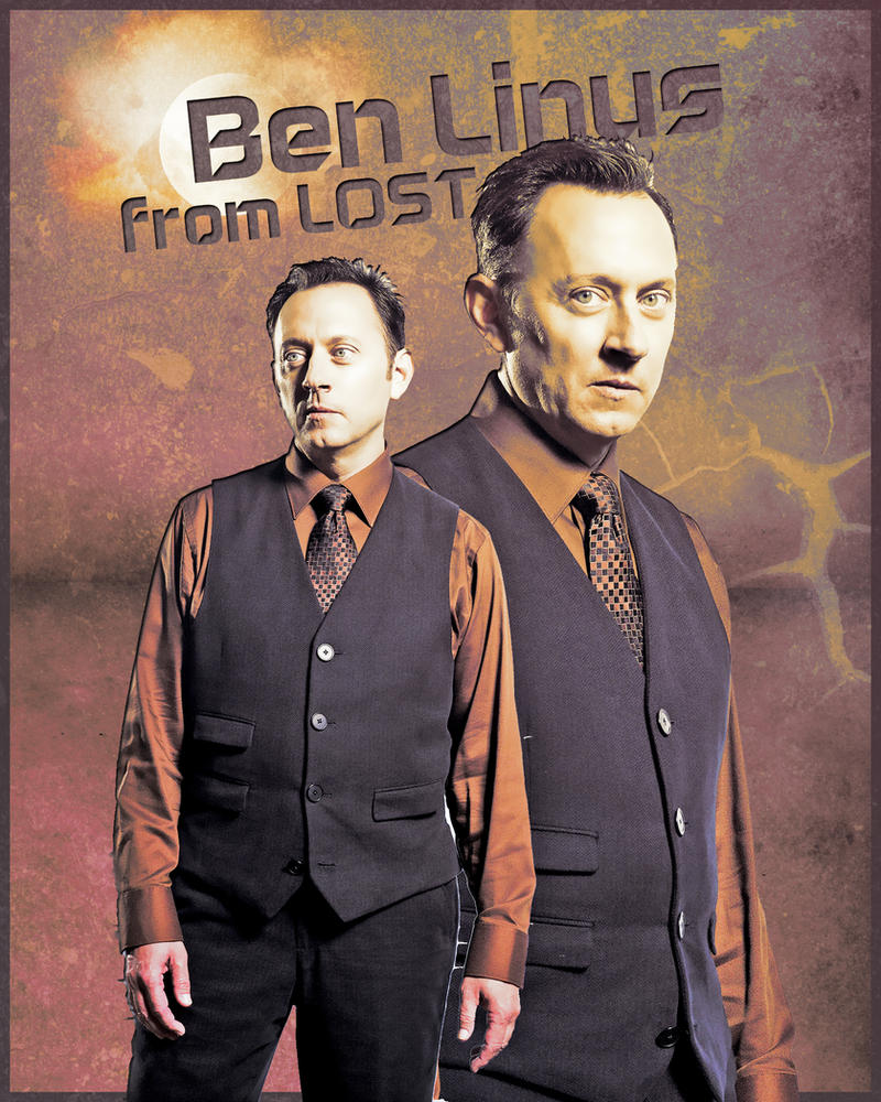 Ben Linus Michael Emerson LOST by Anthony258