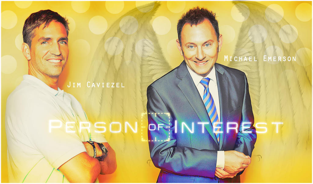 PERSON OF INTEREST CAVIEZEL AND EMERSON by Anthony258