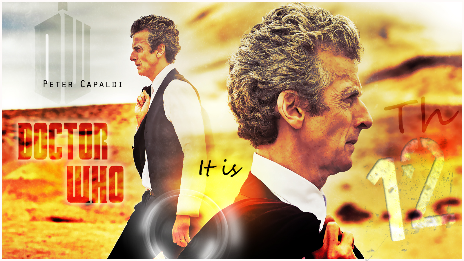 DOCTOR WHO 12TH PETER CAPALDI By Anthony258 On DeviantArt