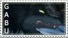 Serious Gabu Stamp by EndanaMidnight