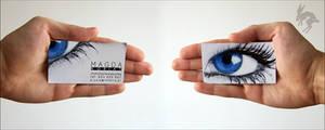 Make-up Artist business card